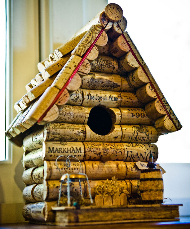 bird house plan made out of wine corks pdf woodworking