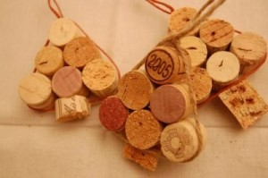 Ёлочки из пробок cork christmas tree