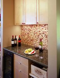 Декор интерьера из пробок cork interior decoration design
