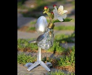 Скульптура из ложек
