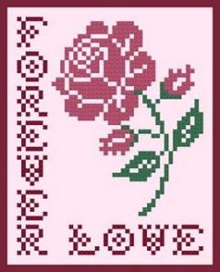 Роза. Схема 8.
