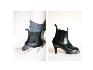 трансформация туфель