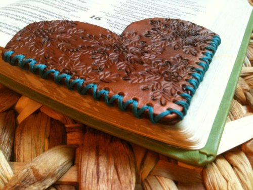 сердце закладка для книги