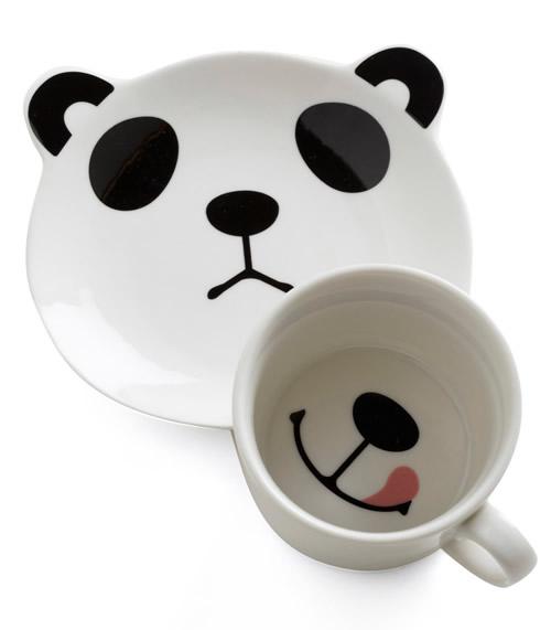 Кружка - панда (илл.)