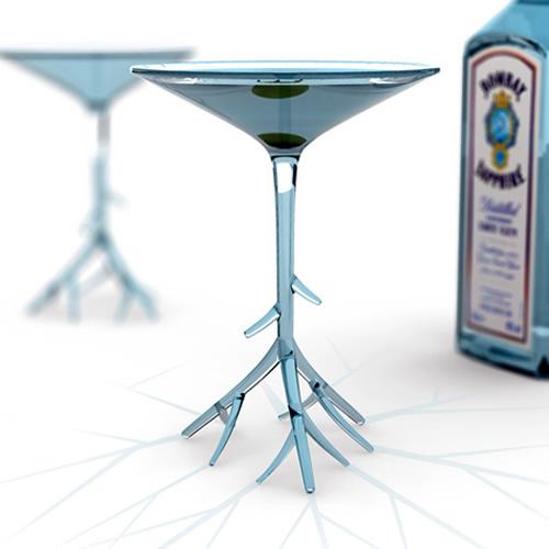 Бокал для мартини - веточка(илл.)