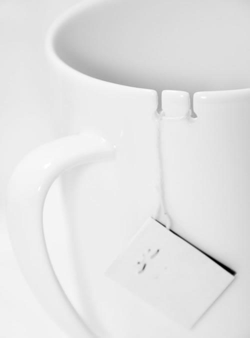 Кружка с отделениями для чайного пакетика (илл.)