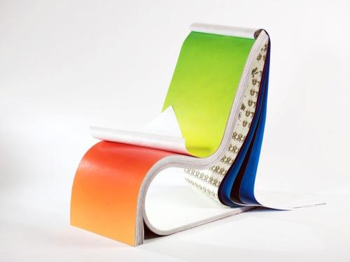 Кресло-блокнот Дизайн: Стефан Загмайстер (илл.)
