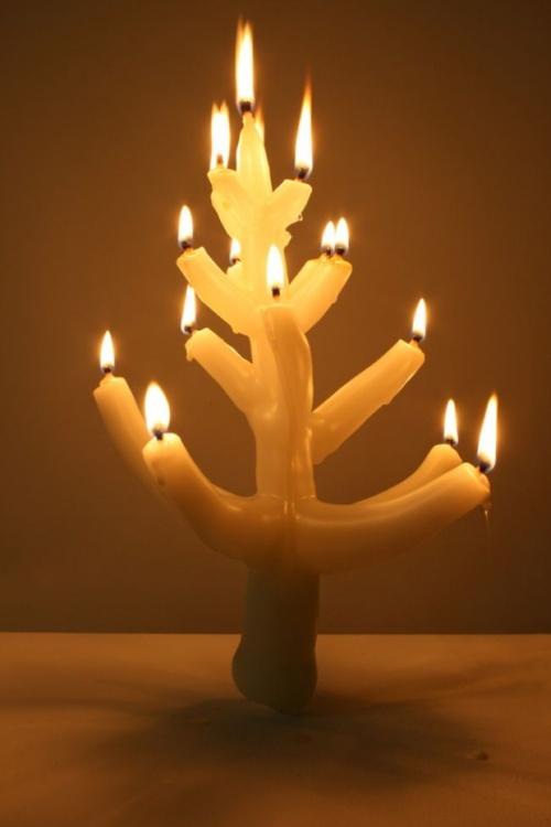 Ёлка - свеча