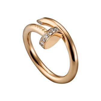 Кольцо Cartier (золото, бриллианты)